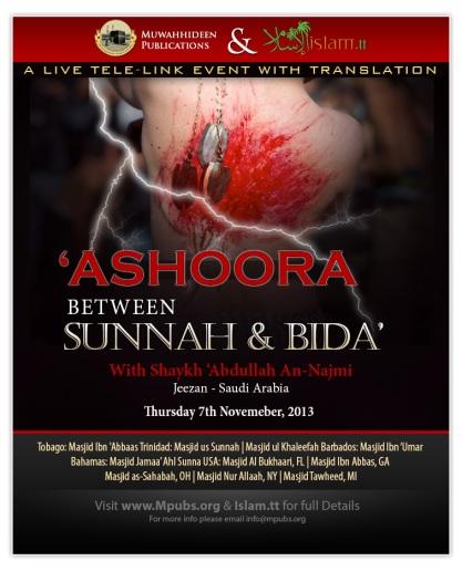 Ashoora - Between Sunnah & Bida - Shaykh Abdullah an-Najmi