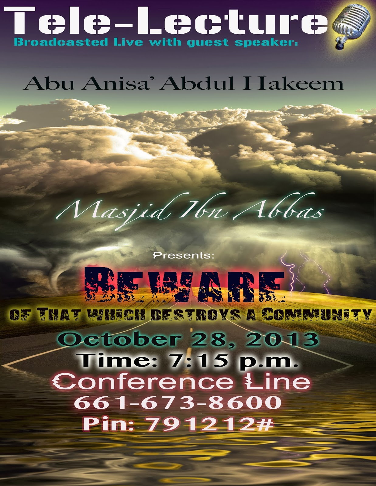 Beware of That Which Destroys a Community - Abu Anisa Abdul Hakeem