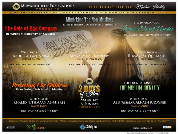 The Role of Bad Company in Ruining the Identity of a Muslim - Shaykh Abdullah an-Najmi