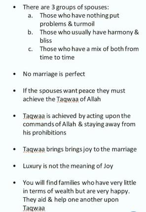 Family Life According to The Sunnah